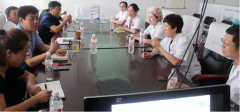 白城玛丽亚妇产医院召开医院合唱团座谈会
