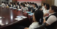 白城玛丽亚妇产医院走进龙江银行关爱女职工