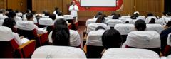 喀什玛丽妇科医院召开医药分开培训会