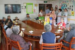 白城玛丽亚妇产医院开展慰问孤寡老人活动