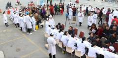 白城玛丽亚妇产医院开展庆70周年义诊活动