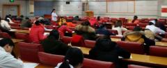 白城玛丽亚妇产医院举办文明用语知识竞赛