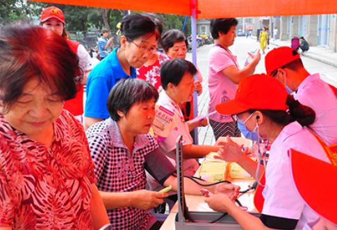 白城玛丽亚妇产医院开展'女性健康'活动