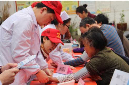 白城玛丽亚妇产医院走进日升社区开展义诊活动